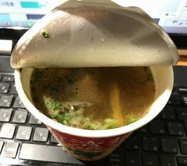 台湾麺線お湯投入