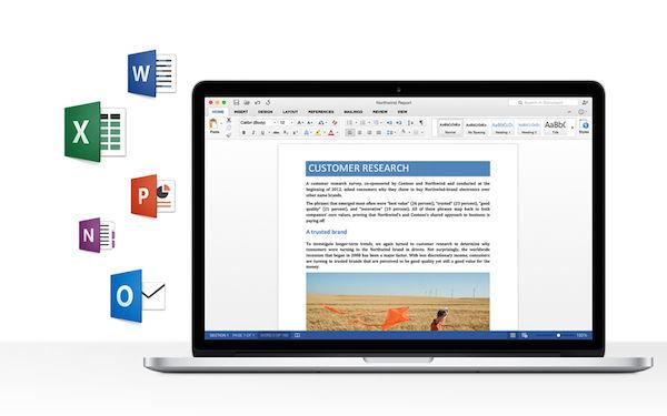 新しいMicrosoft Office 2016 for Mac