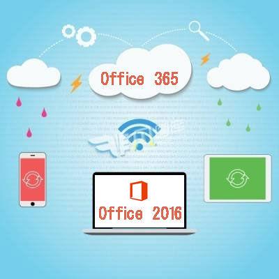 Office 2016と365の区別