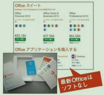Officeには様々なパッケージがある