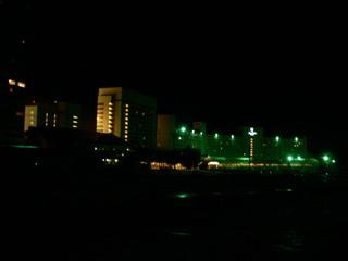 苗場スキー場の夜景