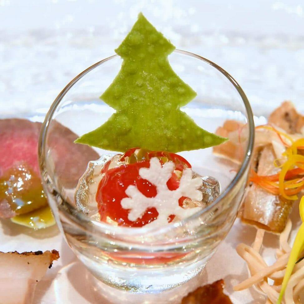シルクロードガーデン ディズニークリスマス2019スペシャルメニュー トマトジュレ