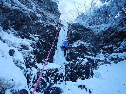 7-ポストクリスマスルンゼの滝