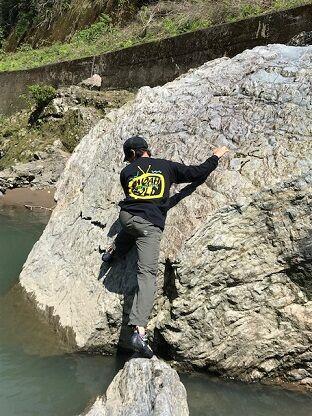 保津峡ボルダー2