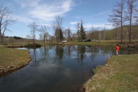 エサ釣り池1