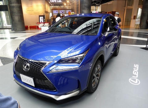 The_frontview_of_Lexus_NX200t_F_SPORT_PROTOTYPE