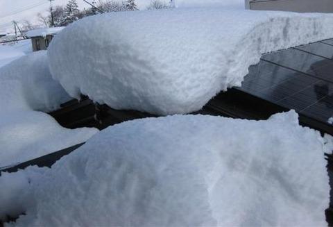 2009/12/18~19 会津・喜多方の大雪
