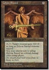 Zelyon Sword
