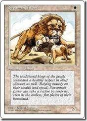 サバンナライオン