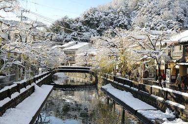 城崎温泉冬