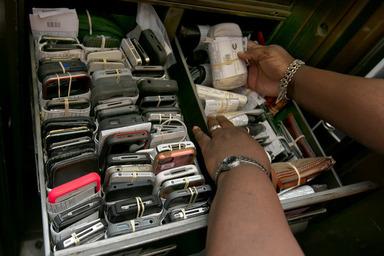 遺失物の携帯