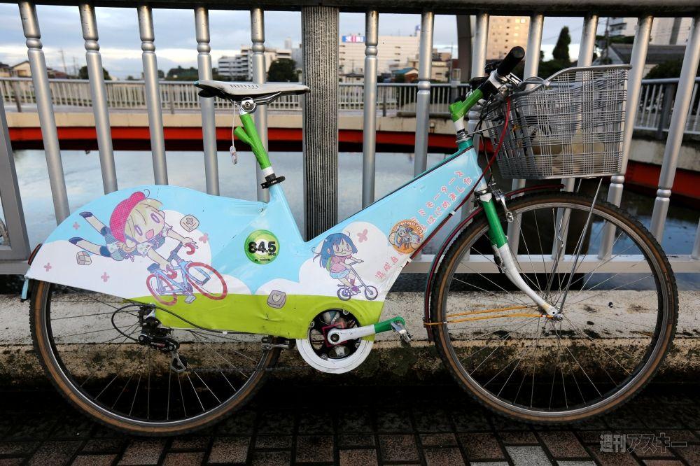 自転車の 自転車 ギア比 ママチャリ : 自転車レースでママチャリで ...
