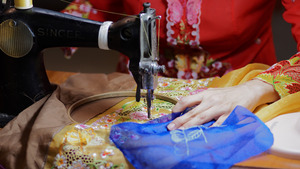 Sewing of Kebaya