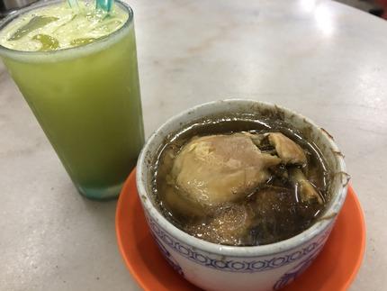 KeongKeeRestaurant_ginsengチキンスープIMG_3539