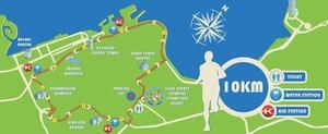 BIM 2013 route - 10KM