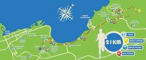 BIM 2013 route - 21KM