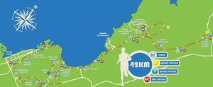 BIM 2013 route - 42km