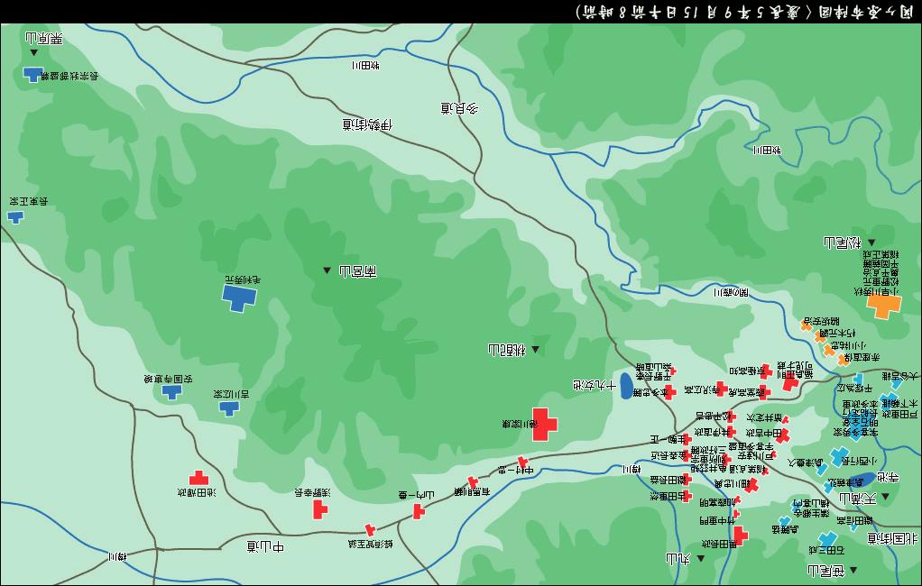 戦い 布陣 の 図 関ヶ原