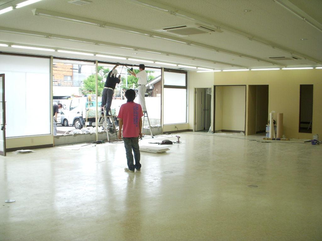 新店舗内装工事