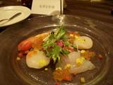 小野披露宴食事1