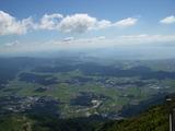 山頂よりの景色