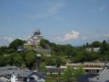 掛川城 遠景