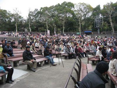 写真:原発被害者と支援者の集い