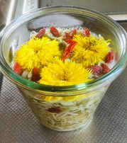 菊花の酢の物