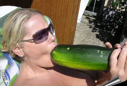 girl-swallows-cucumber