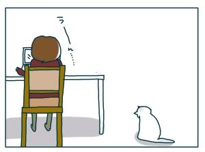 猫と一緒-20090124-01