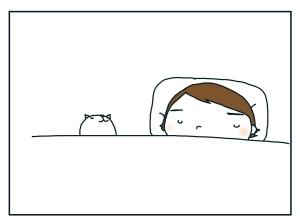 猫と一緒-20100116_06