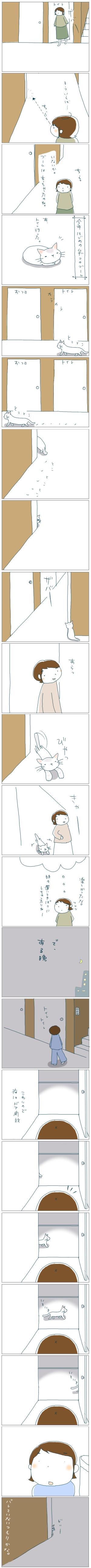猫と一緒-20081030