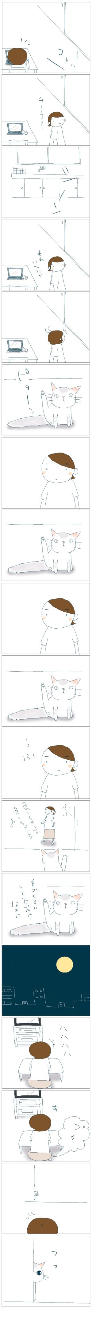 猫と一緒-20080724
