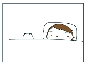 猫と一緒-20100116_07