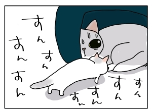 猫と一緒-20120411_06