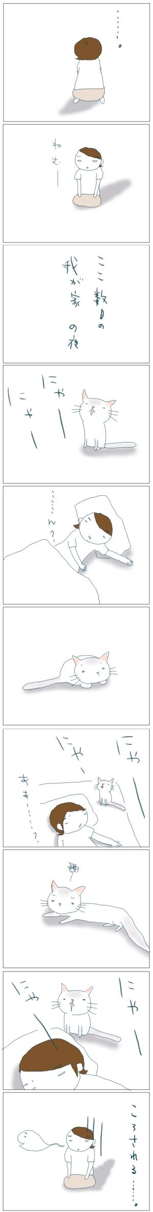 猫と一緒-20080730