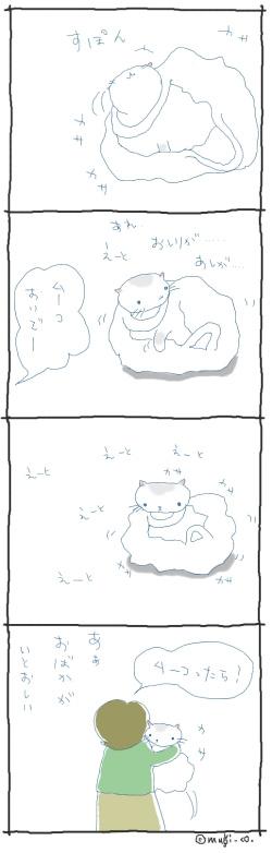 猫と一緒-20070501