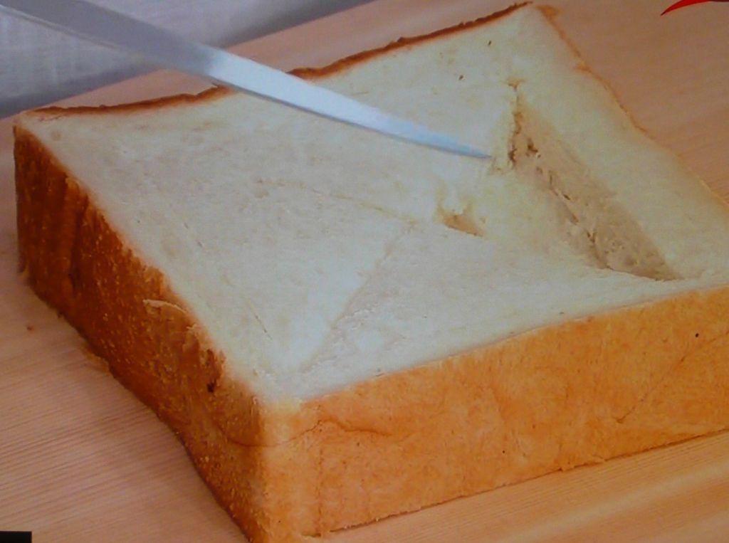 乾燥防止にパンにはラップを
