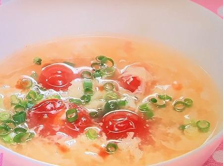 トマトとレモンのサワースープ