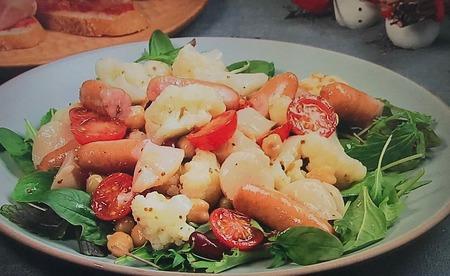 【カリフラワーと帆立貝のマリネサラダ】レシピ
