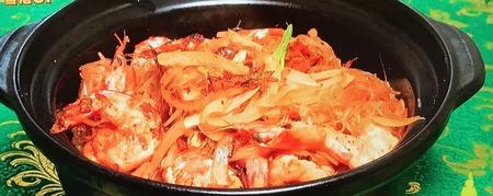 【エビと春雨のXO醤炒め】レシピ