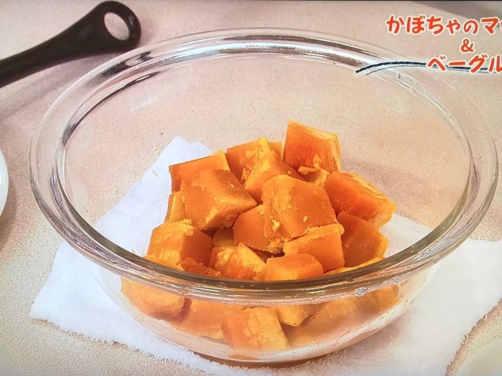 かぼちゃのマッシュを作る