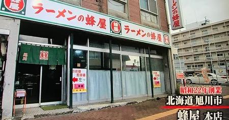 北海道・旭川市【蜂屋 本店】