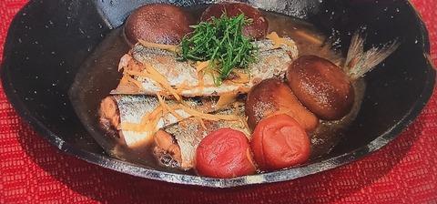 ノンストップ!笠原将弘レシピ【サンマの梅しぐれ煮】