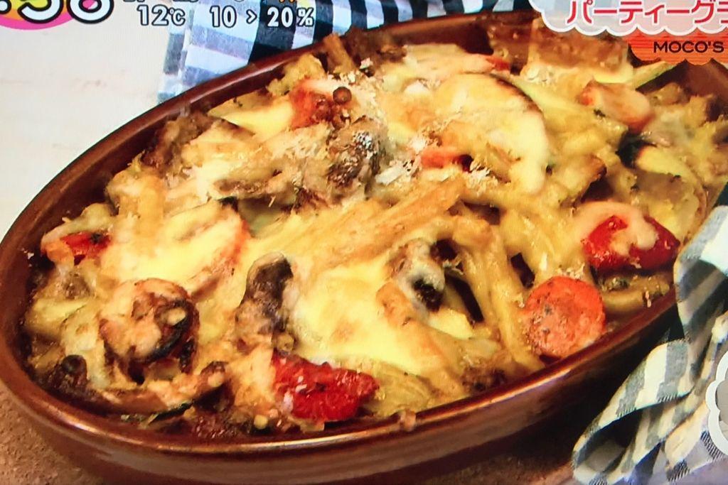 220℃に予熱したオーブンに入れ、約10分こんがりと焼く