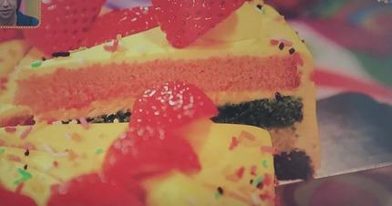 ケーキレインボーショートケーキ