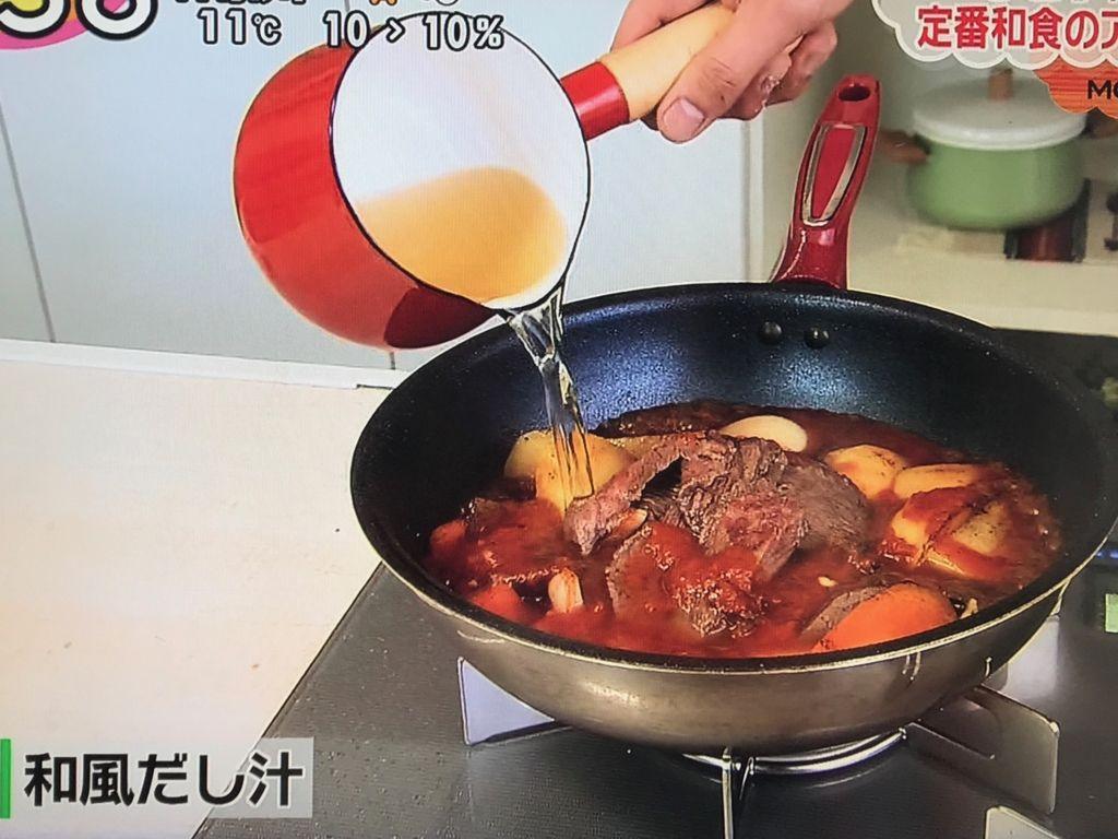 強火で沸騰させてアクを取ったら中火の弱にし、落とし蓋をして約20~30分煮る