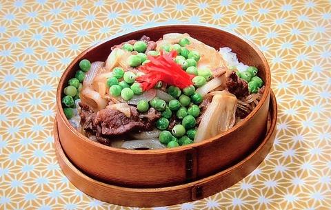牛すき煮弁当