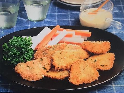 3分クッキング【鮭のフライ タルタルソース添え】 レシピ