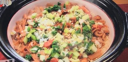 【メンマとベーコンの炊き込みご飯】レシピ